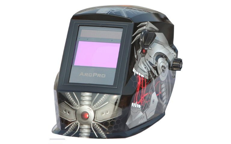 ArcPro 20704 Auto-Darkening Solar Powered Welding Helmet